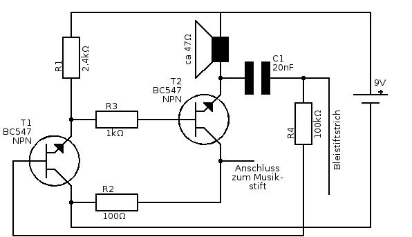 Schön Bc547 Schaltung Bilder - Die Besten Elektrischen Schaltplan ...
